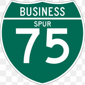 75% - Interstate 80 Business US Interstate Highway System Business Route Road PNG
