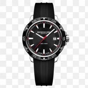 Watch - Raymond Weil Diving Watch Jewellery Watch Strap PNG