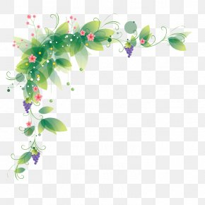 Flower - Borders And Frames Flower Clip Art PNG