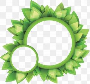 Leaf - Leaf Logo Circle PNG