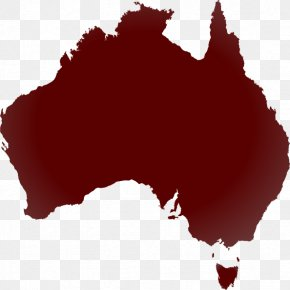 Australia - New South Wales World Map Clip Art PNG