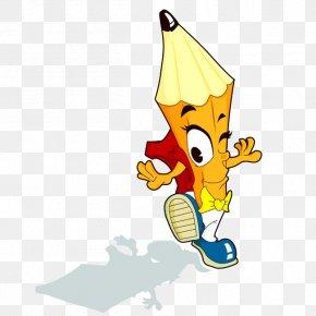 Pencil - Pencil U0e01u0e32u0e23u0e4cu0e15u0e39u0e19u0e0du0e35u0e48u0e1bu0e38u0e48u0e19 Cartoon Animation PNG