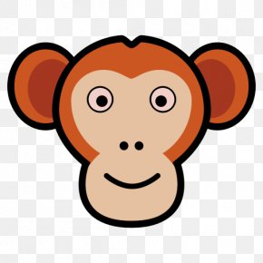Ape Icon - Ape Video Monkey Image Photography PNG