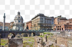 Italy's Capital Rome 4 - Rome Architecture Fukei PNG