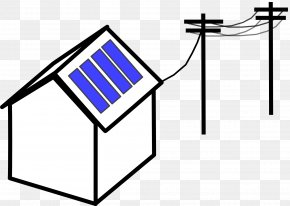 Solar Panel - Electricity Electric Generator Electrical Grid Power Station Clip Art PNG