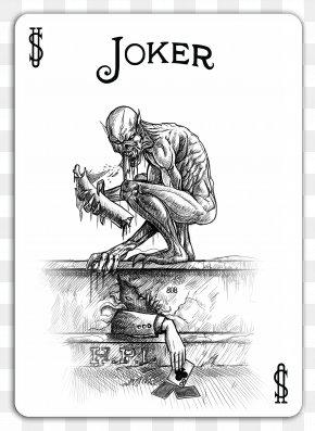 Joker Card - Joker Bicycle Playing Cards Game Drawing PNG