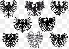 Eagle - Black Eagle Heraldry Royalty-free PNG