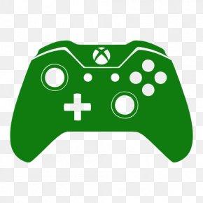 Xbox Transparent - Xbox 360 Controller Xbox One Controller Joystick Clip Art PNG