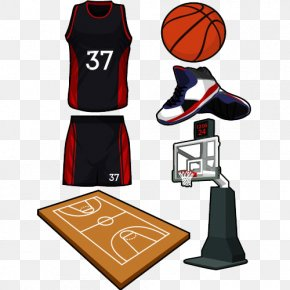All Kinds Of Sports Equipment - Jersey Sport Basketball Court PNG