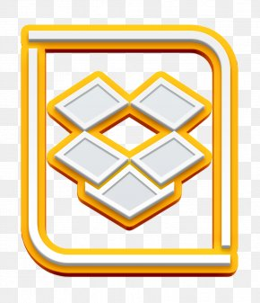 Yellow Sharing Icon - Cloud Icon Dropbox Icon Share Icon PNG