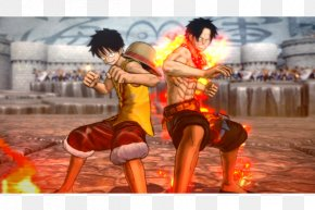 One Piece: Burning Blood - One Piece: Burning Blood Monkey D. Luffy One Piece: World Seeker Usopp Xbox One PNG