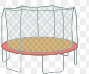 There Is A Trampoline With A Protective Net - Skywalker Trampolines Jumping Trampolining Amazon.com PNG