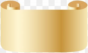 Scroll Transparent Clip Art Image - Yellow Angle Cylinder Font PNG