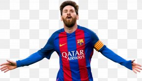 Lionel Messi - FC Barcelona Football Player Argentina National Football Team Poster PNG