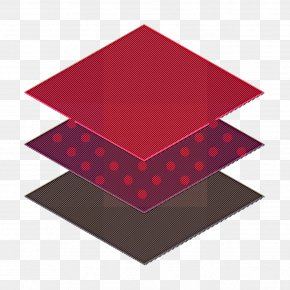 Triangle Red - Layers Icon Graphic Design Icon Essential Icon PNG