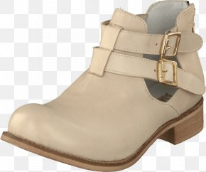Boot - Shoe Shop Boot Beige Leather PNG