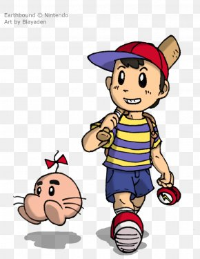 Boing - EarthBound Super Nintendo Entertainment System Mr. Saturn PNG