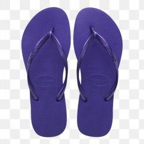 Simple Purple Sandals - Flip-flops Slipper Sandal Leather Lining PNG