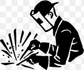 Arc Welding Black And White Welder Clip Art PNG
