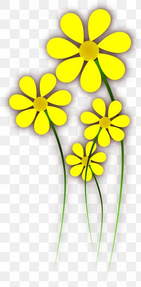 Flower Yellow - Flower Yellow Common Daisy Clip Art PNG