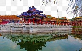 Hengdian New Yuan Ming Palace Scenic - Old Summer Palace Hengdian World Studios Hengdianzhen Vector Building U5706u660eu65b0u56ed PNG