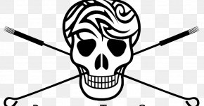 Tattoo Needle - Skull And Crossbones Face Clip Art PNG