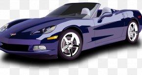 Sports Car - Sports Car Ferrari Chevrolet Corvette PNG