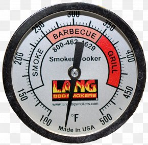 Lang Bbq Smoker Cookers - Barbecue Smoking BBQ Smoker Gauge Heat PNG