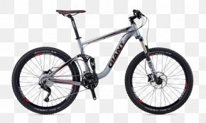 Black Bike - Giant Bicycles Mountain Bike Bicycle Suspension Cycling PNG