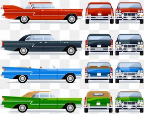 Vintage Car Design Vector Material - Vintage Car Ford Motor Company Classic Car PNG