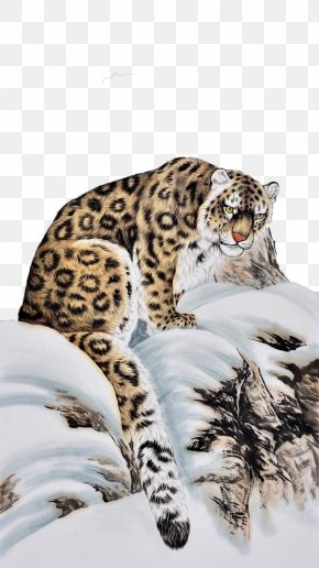 Like A Tiger Like A Snow Leopard - Tiger Snow Leopard Cat Ocelot PNG