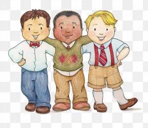 Children's Cartoon Illustration Friends - Bible Love The Church Of Jesus Christ Of Latter-day Saints Child Clip Art PNG