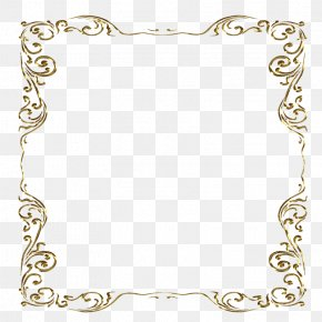 Gold Frame - Clip Art Borders And Frames Picture Frames Decorative Arts PNG