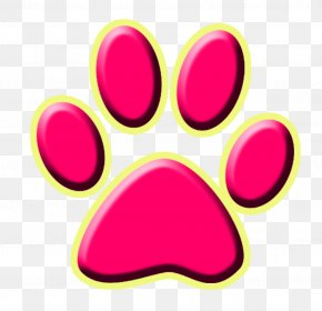 Stereo Footprints - Dog Paw Cat Silhouette Printing PNG