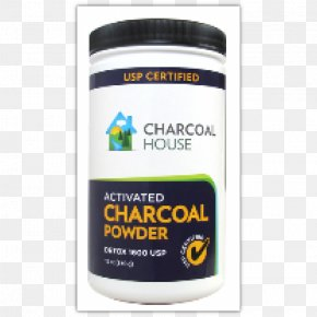 Activated Charcoal - Dietary Supplement Activated Carbon Charcoal Powder Detoxification PNG