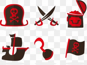 Vector Pirates Elements - Piracy Icon PNG