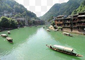 The River Boat Zhangjiajie - Zhangjiajie Jiehe River Boat PNG