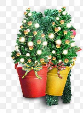 Vector Christmas Tree - Christmas Tree Computer File PNG