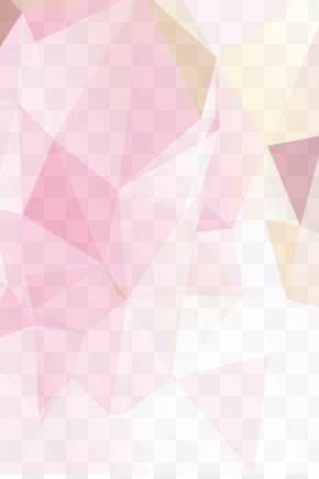 Pink Geometric Background Material - Triangle Textile Pink Pattern PNG