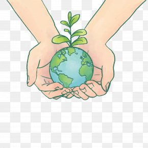 World Environment Day Holds The Earth Vector - Earth World Environment Day Euclidean Vector PNG