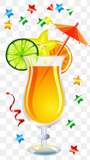 Cocktail - Cocktail Juice Drink Clip Art PNG