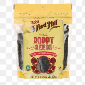 Bread - Bob's Red Mill Poppy Seed Bread Flour Gluten-free Diet PNG