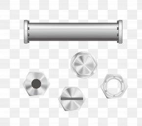 Vector Screw Nut - Pipe Screw Stainless Steel PNG