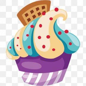 Cupcake - Cupcake Muffin Red Velvet Cake Macaroon Bakery PNG