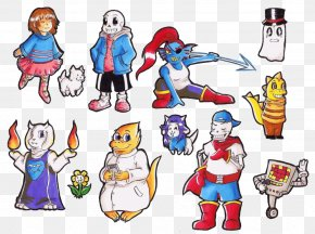 Undertale Character Toriel Game PNG