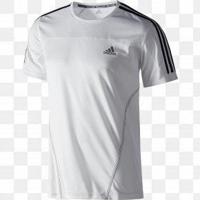 Adidas T Shirt - T-shirt Adidas Sportswear Sleeve PNG