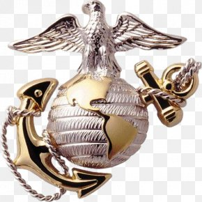 United States - History Of The United States Marine Corps Eagle, Globe, And Anchor Emblem PNG
