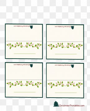 Name Card - Place Cards Christmas Holiday Greeting & Note Cards Paper PNG
