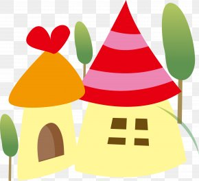 Vector Snow House - Download Clip Art PNG