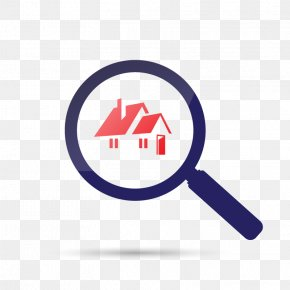 Vector Magnifying Glass In The House - Real Estate Coraxe7xe3o Eucarxedstico Netimxf3veis Renting Apartment House PNG